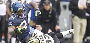 Il running back di Seattle, Marshawn Lynch. Ansa