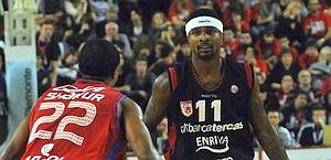 Dee Brown, 27 anni, 13 punti di media a gara. Ciam/Cast