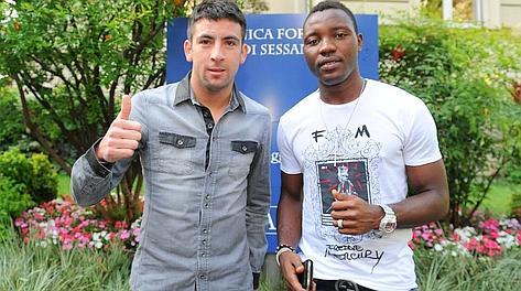 Mauricio Isla e Kwadwo Asamoah, due destini assolutamente diversi con la Juventus. Foto: LaPresse.