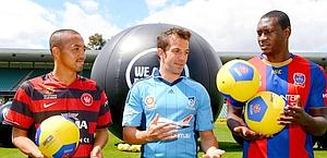 Ono, Del Piero e Heskey lanciano la A-League. Afp