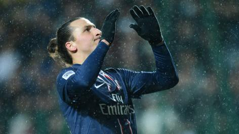 Zlatan Ibrahimovic, 25 gol in Ligue 1. Afp