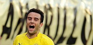 Giuseppe Rossi: in bilico tra Inter e Manchester City. Afp