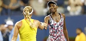 Venus Williams, k.o. con la Kerber. Reuters