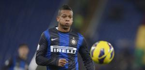 Fredy Guarin, centrocampista colombiano dell'Inter. LaPresse