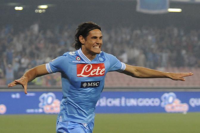 Cavani 101 Gol Tutti Per Napoli