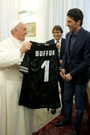 La Juve Da Papa Francesco