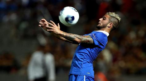 Lorenzo Insigne, un gol in due gare all'Europeo Under 21. Ansa