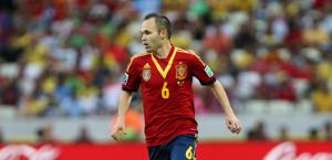 Andres Iniesta, 29 anni. Action Images