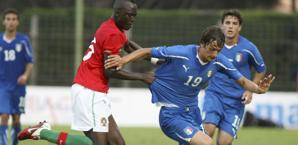 Gabbiadini, qui con l'Under 21. Ap