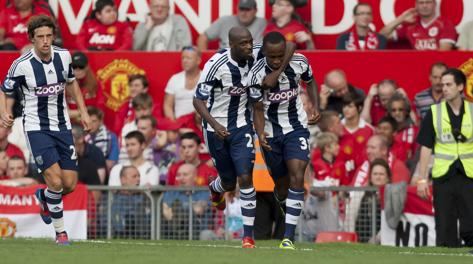 Baggies padroni all'Old Trafford. Ap