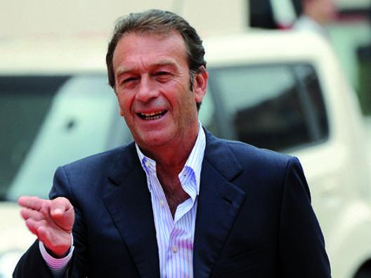 Massimo Cellino, presidente del Cagliari. Ansa