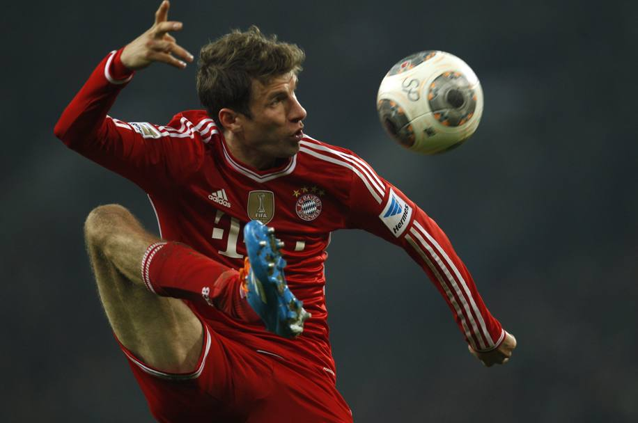 Controllo di Thomas Mueller (Action Images)