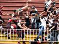 Scontri tra tifosi in una  partita del campionato brasiliano