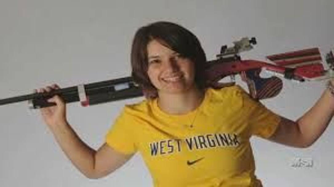 Petra Zublasing quando era studentessa alla West Virginia University