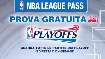 Nba, playoff gratis in streaming sabato e domenica