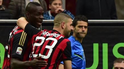 Serie A, Milan-Livorno 3-0: Balotelli segna e fa segnare Taarabt e Pazzini