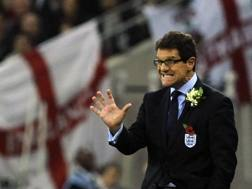 Fabio Capello ai tempi in cui era c.t. dell'Inghilterra. Reuters