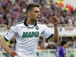 Domenico Berardi, 19 anni, 16 gol al primo anno in A. LaPresse