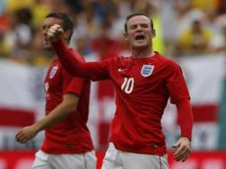 Wayne Rooney, simbolo dell'Inghilterra di Hodgson. Reuters