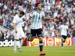 Ricky Alvarez, suo l'1-0 dell'Argentina. Ap