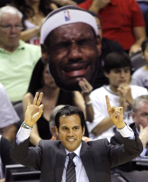Miami Heat coach Erik Spoelstra (Reuters)