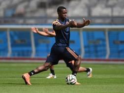 Il centravanti colombiano Jackson Martinez, 27 anni. Afp
