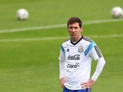 Lionel Messi, 26 anni. Epa