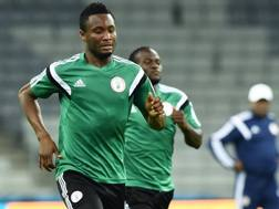 Il centrocampista del Chelsea e della Nigeria Obi Mikel. Afp