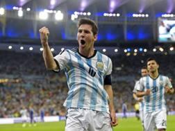 Messi esulta. Epa