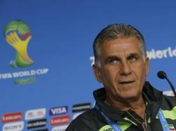 Carlos Queiroz, 61 anni, portoghese, è il c.t. della Nazionale iraniana. Reuters