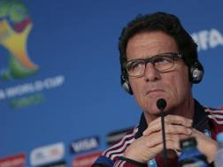 Fabio Capello, commissario tecnico della Russia. Ap