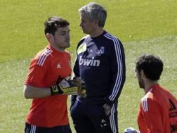 Mourinho e Casillas nei tempi