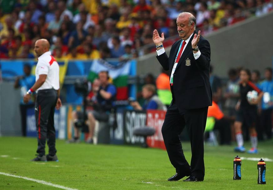 Vicente Del Bosque è incredulo.