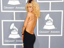 Rihanna, 26 anni. Afp