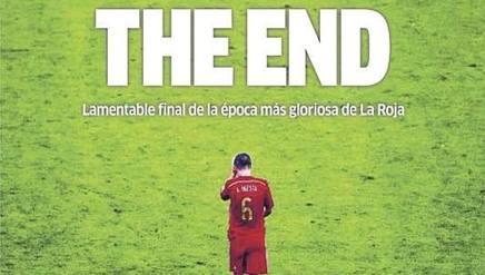 """Spagna, giornali duri (ma non troppo). """"Bello finché è durato"""""""
