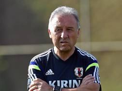 Alberto Zaccheroni, 61 anni, c.t. del Giappone dal 2010. Afp