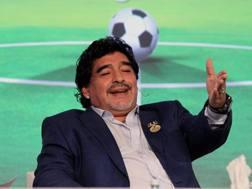 Diego Armando Maradona, 53 anni. Ansa