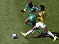 Yaya Touré contro la Colombia. Ap