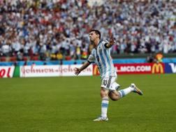 Lionel Messi, 27 anni ieri, altri due gol oggi. LaPresse