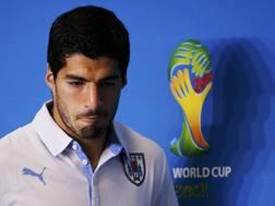 Luis Suarez, attaccante del Liverpool e dell'Uruguay. Reuters