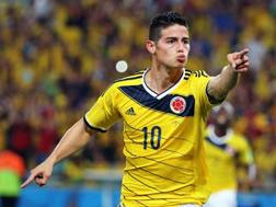 James Rodriguez, 23 anni. Epa