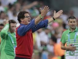 Fabio Capello, la sua Russia è stata eliminata nella fase a gironi. Ap