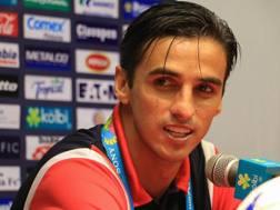 L'attaccante costaricano Bryan Ruiz. Ansa