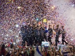 Costa Rica in festa. AP