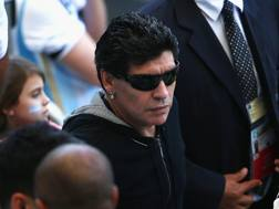 L'argentino Diego Armando Maradona. Getty