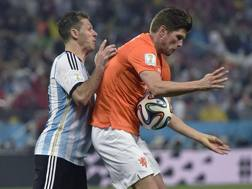 Klaas-Jan Huntelaar. LaPresse