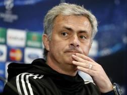 Josè Mourinho, tecnico del Chelsea. Epa