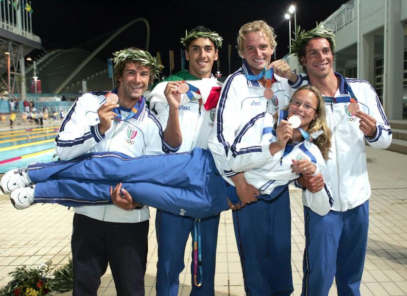 Le medaglie azzurre dell edizone 2004 dell Olimpiade a7081520637a4