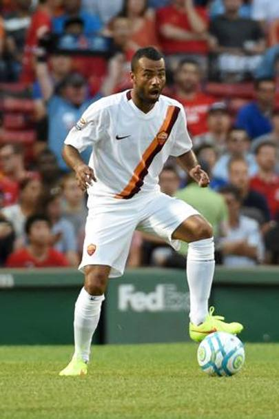Ashley Cole, 33enne terzino ex Chelsea. Afp