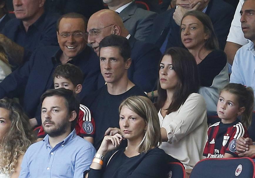 Nord Sud Honda >> Milan-Lazio, Berlusconi e altri vip in tribuna - La ...